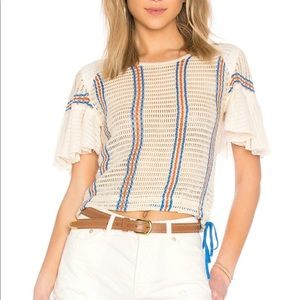 Free People Babes Only Striped Tee